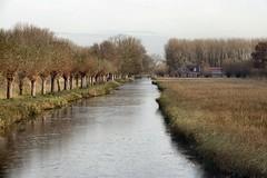 vaart in Delfste Hout (Gerard Stolk (durant lAvent)) Tags: delft vorst winter ijs vaart delfstehout