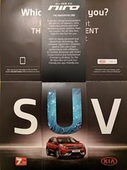 Kia's SUV Brochure Advertising their Estate Car (Pyrolytic Carbon) Tags: kia suv niro falseadvertising mobile brochure