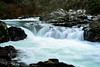 Unnamed Falls (M3tr1c) Tags: rock cliff stone pool water wet river ocean flow curve blue snow green nature waterfall washington moulton park outdoor lewis