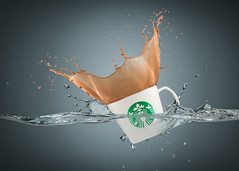 starbucks coffee splash (rami yazagi photography) Tags: commercial advertising product coffee splash tabletop starbucks advertisingphotography productphotography highspeed