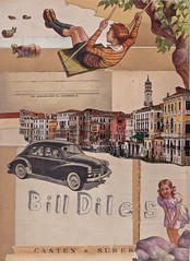 Bill Diles (Jeff Kallet) Tags: kallet collage contemporaryart artonpaper fineart