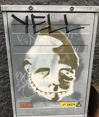 Trollkin (wiredforlego) Tags: graffiti streetart urbanart reykyavik iceland kef stencil illegal art