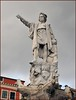 Statue of Christopher Columbus (Vee living life to the full) Tags: italy france french italian riviera leger travel touring holiday nikond300 christophercolumbus statue stmarguerite art sculpture history historic figure sailor maritime mariner world hero discoverer us