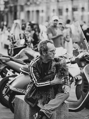 Kiki. (Bart) Tags: street blackandwhite bw white black cute monochrome lost photography blackwhite thought noir candid strangers streetphotography olympus stranger nb micro charming f18 rue blanc lostinthought 43 noirblanc 75mm photoderue m43 mft ep5 micro43 microfourthirds microfourthird 43 75mm18 mzuiko mzuikodigital olympusep5 olympus75mmf18 mzuikodigitaled75mmf18