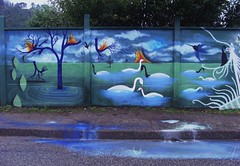 """""""La poesía no quiere adeptos, quiere amantes"""" (Felipe Smides) Tags: streetart mural valdivia muralismo smides felipesmides"""