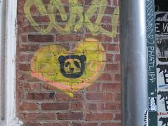 IMG_5275 (Mud Boy) Tags: nyc streetart newyork graffiti stencil panda heart manhattan soho