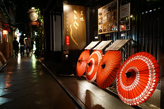 Ponto-cho () in Kyoto Japan (TOTORORO.RORO) Tags: life street travel light red people color tourism colors japan night zeiss umbrella shopping living spring alley kyoto view availablelight patterns sony lifestyle tourist e carl    24mm alpha f18 popular visitor viewing narrow attractions pontocho activities nationalgeographic sonnar nex   mirrorless  a6000 sel24f18z sonnart1824 sonnarte1824 ilce6000