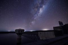 Milky Way over North Dardanup Dam (inefekt69) Tags: longexposure nightphotography night stars nikon dam tokina galaxy astrophotography perth astronomy nightsky dslr universe cosmos westernaustralia cosmology milkyway 1116mm northdandalupdam d5100