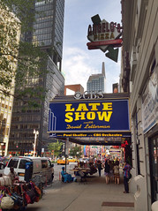 Ed Sullivan Theatre (robtain) Tags: city newyork outdoor july davidletterman 2014 edsullivantheater iphone5 prohdr iphoneography