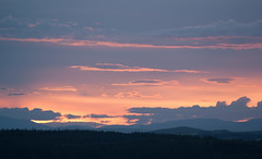 Red Sky at Night... (Katherine Ross) Tags: uk sunset sky cloud wind dundee angus farm hill law turbine