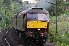 WCRC 47746 1T39 Scarborough to York 17/07/2014 (HST Sam) Tags: class scarborough express spa 47 sulzer wcrc