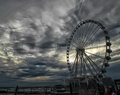 The Capital Wheel at National Harbor (Forsaken Fotos) Tags: summer maryland outsidefun nationalharbor summer2014 thecapitalwheel