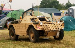 Daimler Ferret Scout Car (MJ_100) Tags: show army ferret military armor vehicle britisharmy armour daimler revival warandpeace scoutcar