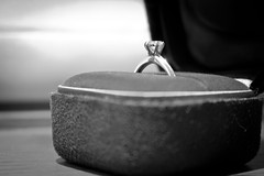 Day 76/365 - Timeless (natasia.causse) Tags: wedding macro oneaday engagement marriage jewelry ring diamond precious photoaday tiffany platinum timeless pictureaday project365 project36576 project36514jul14