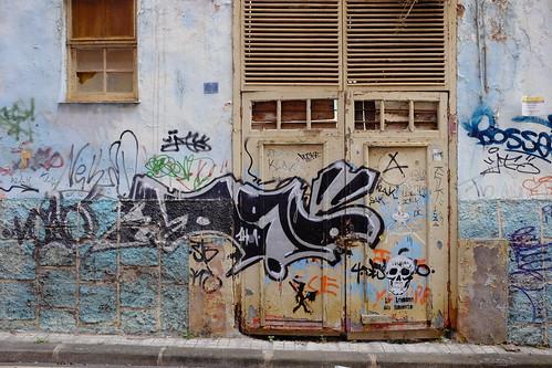 Graffity wall