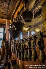 Cowbells in the Heritage Museum, Plovdiv, Bulgaria