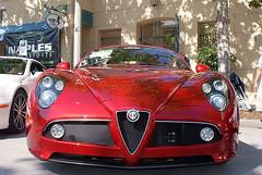Alfa_Romeo_8C_2008_Competizione_HeadOn_CECF_9April2011 (Valder137) Tags: auto car festival orlando florida celebration exotic romeo alpha 2008 automobiles 8c competezione