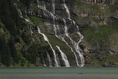 Wasserfall - Waterfall eines Bergbach ( Creek - Bach ) am Oeschinensee ( Bergsee - See - Lac - Lake ) oberhalb von Kandersteg im Berner Oberland im Kanton Bern in der Schweiz (chrchr_75) Tags: chriguhurnibluemailch christoph hurni schweiz suisse switzerland svizzera suissa swiss kantonbern chrchr chrchr75 chrigu chirguhurni 1407 juli 2014 hurni140731 chriguhurni berner oberland berneroberland oeschinensee see lac lake lago albumoeschinensee alpensee bergsee albumbergseenimkantonbern s jrvi  bergseeli seeli kandersteg albumwasserflleimkantonbern albumwasserfllewaterfallsderschweiz wasserfall   vandfald waterfall cascade  cascada waterval wodospad vattenfall vodopd slap juli2014