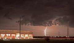 Fire Light (Chains of Pace) Tags: longexposure storm oklahoma clouds unitedstates chase guymon cloudsstormssunsetssunrises