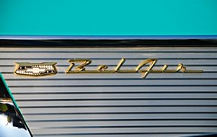 Chevrolet Bel Air (Cragin Spring) Tags: blue chevrolet belair car illinois midwest chevy 1957
