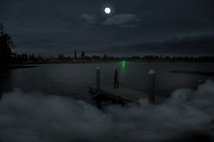 Gatsby (Blake Rizzo) Tags: light moon green night clouds great gatsby the
