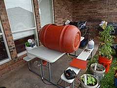 MY WORK SPACE (coupe1942) Tags: compost compostbin composter diycompostbin