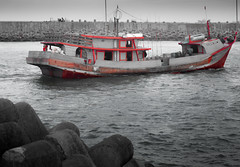 DSC_0067 (ajinurvita) Tags: sunset indonesia laut menara pantai kapal cilacap cekerayam telukpenyu