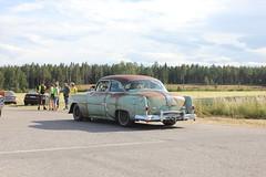 Pontiac 1954 (Drontfarmaren) Tags: hot classic cars reunion vintage gallery power sweden july 1954 american rod pontiac juli custom rods 19 v8 bilder 2014 strngns galleri lrdag malmby drontfarmaren