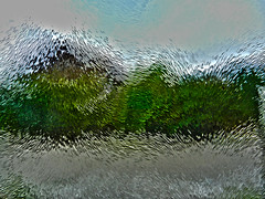 Strange (gripspix (OFF)) Tags: abstract glass glas structured strukturiert abstakt nikon9100 20140723