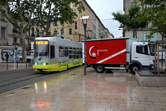 STAS 902 [Saint-tienne tram] (Howard_Pulling) Tags: camera france st french tren photo nikon photos picture july tram zug bahn trams etienne strassenbahn sncf 2014 howardpulling d5100