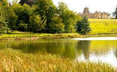 BLENHEIM PALACE PARK AND GARDENS (chris .p) Tags: park uk trees summer lake reflection tree landscape nikon view august cotswolds palace gb blenheim oxfordshire cotswold 2014 d610 28to300
