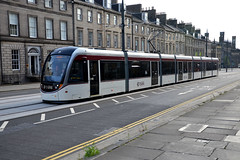 Edinburgh Trams 261 (Howard_Pulling) Tags: camera scotland nikon edinburgh transport july scottish tram trams strassenbahn 2014 howardpulling d5100