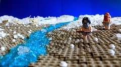 The beginning of an era (peggyjdb) Tags: history ice reindeer melting lego britain age hunter caribou tundra britishhistory gatherers