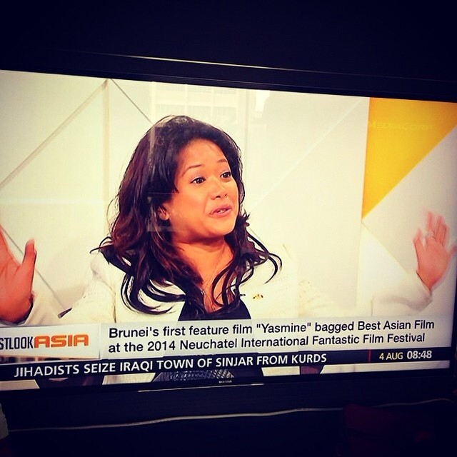 You go girl! <3 Repost from @liewweiwei:  Watching @sitikamaluddin this morning on Channel NewsAsia made me burst with pride. I remember the days back home when she said to us, I just want to make films. and then she did. You go girl! Big love and su