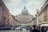 Via della Conciliazione (Trompeat) Tags: italy vatican rome roma italia vaticano sanpietro sanpedro conciliazione