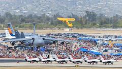 Kent Pietsch in the Jelly Belly Interstate Cadet (Norman Graf) Tags: plane airplane aircraft airshow interstate jellybelly cadet aerobatics davismonthanafb kentpietsch nc37428 2014thunderlightningoverarizona
