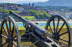 Monte Urgul Battery (taftazani) Tags: spain monte sansebastian bizkaia donostia urgul