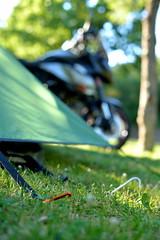 Spain Bike Trip_102 (jjay69) Tags: camping camp outdoors transport tent supermoto ktm motorbike moto motorcycle sumo vtwin smt campsite 990 2wheels 1000cc outdoorlife smalltent greentent ktm990smt 990smt austrianmotorbike
