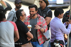 Saif Ali Khan, Phantom, filming Vancouver, August 7, 2014   19 (Nigel Horsley) Tags: vancouver saifalikhan 2014 august7