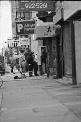 Arch Street Philadelphia 1995 003 Police Arrest (photographer695) Tags: street philadelphia arch police 1995 arrest 004