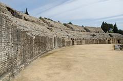 Amphithtre d'Italica (Ville de Santiponse) (Drics67) Tags: spain espagne romain trajan sville ville andalousie ruines hadrien italica amphithtre santiponce scipionlafricain btique
