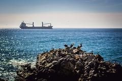 (. . .) Tags: chile sea del 50mm mar barco via v region rocas