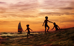 Dias de playa y sol (anrapu) Tags: espaa huelva playa andalucia matalascaas zuiko1454 olympuse3