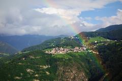 Regenbogen um Steinegg
