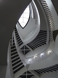 Chicago, Museum of Contemporary Art, Stairwell Abstract