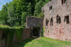 Burg Schadeck (timohannukkala) Tags: castle germany de nikon ruins sigma burg hesse neckarsteinach schadeck d7100