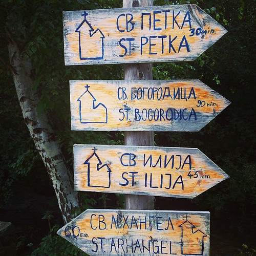 All trails lead to a church ;-) #macedonia #balkans