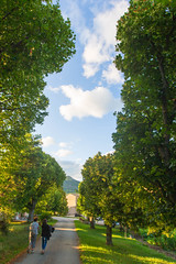 La Colombrette (Alex Stoen) Tags: travel trees sunset summer sky france green nature clouds canon geotagged countryside google flickr dof walk peaceful shade provence goldenhour smugmug facebook vaucluse vercoiran 500px 1dx creativecomposition ef1635f28liiusm alexstoen alexstoenphotography canoneos1dx lacolombrette