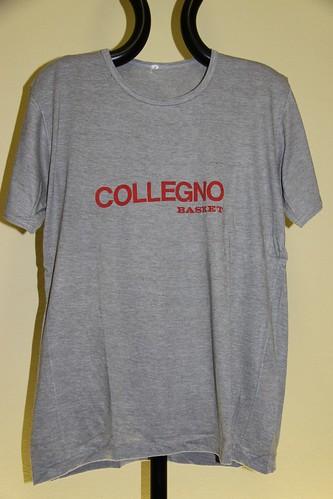 T-shirt grigia Collegno Basket