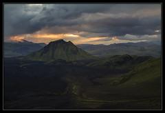Hattfell Sunset (RattyBoots) Tags: sunset canon volcano iceland 7d canon24105 dodgystomach hattfell